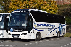 SM16ONS  Simpsons, Rosehearty (highlandreiver) Tags: holidays aberdeenshire simpsons carlisle ons coaches rosehearty sm16 sm16ons bus coach cumbria neoplan tourliner