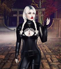 Catsuit Vamp (beccaprender) Tags: catwa catya bento maitreya lara ysys lemporio endlesspain wiccasoriginals vampire latex fetish fantasy