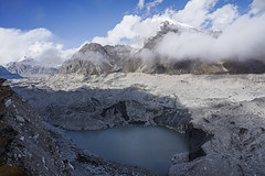 Ngozumba Glacier at Gokyo (Stan Adam) Tags: passes nepalthree trek nepal everest everestthreepassestrek
