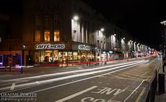 What's Your Hurry? - IMG_4128 - Edited (406highlander) Tags: canoneos6d tamronsp2470mmf28divcusd aberdeen scotland evening night dark street road unionstreet lighttrail traffic longexposure city urban canon fullframe
