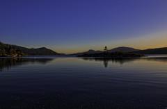 Orcas Island Sunset In The Bay (campmusa) Tags: 2019 october orcasisland eastsound washingtonstate sanjuanislands sunset pacificnorthwest doebay deerharbor olga orcas bluesky