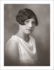 Portraits (Glass Box) 110-13 (Steve Given) Tags: socialhistory familyhistory portrait girl teen teenager 1920s