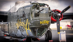(E. Nelson) Tags: b24 b24j liberator witchcraft consolidated bomber plane airplane war wwii worldwarii audre sanantonio texas ericnelson exnimages 2019 collingsfoundation wingsoffreedom vintage historic history stinson