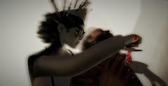Halloween healing (gargantuela) Tags: gargantuela jessposes knife hospital patient asylum glasses syringes nurse nursehat spookzillahunt halloween sl secondlife avatar virtual virtuallife senseevent
