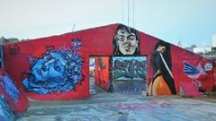 Kymo One & Scenor / Dok Noord - 30 okt 2019 (Ferdinand 'Ferre' Feys) Tags: gent ghent gand belgium belgique belgië streetart artdelarue graffitiart graffiti graff urbanart urbanarte arteurbano ferdinandfeys