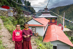 Young Monks (Stan Adam) Tags: trek passes nepalthree nepal everest everestthreepassestrek
