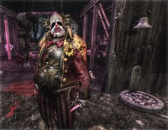 """ Welcome to the Funhouse "" (maka_kagesl) Tags: secondlife sl second life game gaming games virtual videogame videogames halloween horror scary clown killer kill blood cosplay"