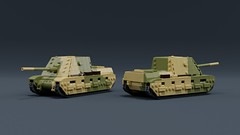 Doot King (ABS doohickies) Tags: lego ldd render falaise military tank mecabricks bowyoushits