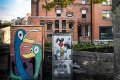 PAINT-A-BOX STREET ART [A BAGGOT STREET BRIDGE]-157880 (infomatique) Tags: paintabox streetart baggotstreetbridge dublin ireland urbanculture william murphy infomatique fotonique urbanexpression grandcanal sony a7riv