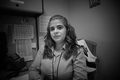 Luisa (Carlos A. Aviles) Tags: nurse enfermera va mujer woman blackandwhite blancoynegro puertorrican puertorriqueña boricua