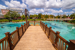 Springs Boardwalk (Jared Beaney) Tags: canon6d canon travel disney park parks resort resorts theme amusement photography photographer usa america waltdisneyworld disneysprings shopping district florida