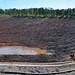 Redbeds over black lacustrine shales (Newark Supergroup, Upper Triassic; Wadesboro Triangle Brick Company Quarry, North Carolina, USA)