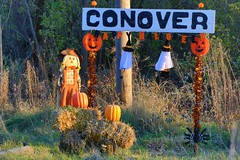 Happy Halloween from Conover IA 653A1691 (naturalist@winneshiekwild.com) Tags: halloween display conover prairie farmer recreation trail winneshiek county iowa larry reis