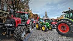 Boerenprotest,Vismarkt,Groningen stad,the Netherlands,Europe (Aheroy) Tags: vismarkt aheroy aheroyal trotsopdeboer boerenopstand boerenprotest trekkers tractors groningen groningenstad akerk boeren farmers farmersrevolt peasantrevolt