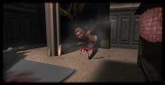 scream! (nortybutnyce) Tags: halloween horror avatar secondlife backdropcove mesh scarymovies