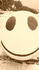 SONRIE SMILE (bottinellicorp33) Tags: smile yellow happy lost day eyes roof