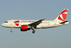 OK-MEL  CSA - Czech Airlines Airbus A319-112 (Osdu) Tags: brusselsnational zaventem melsbroek bru ebbr ebmb aircraft airplane avion aeroplano aereo 机 vliegtuig aviao uçak аэроплан samolot flugzeug luftfahrzeug flygplan lentokone aeroplane طائرة letoun fastvingefly avión lennuk هواپیما flugvél aëroplanum самолёт 固定翼機 飛機 spotting planespotting avia aviation czechairlines airbus a319 エアバスa319 okmel