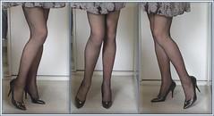 Karoll 415b (Karoll le bihan) Tags: escarpins shoes stilettos heels chaussures pumps schuhe stöckelschuh pantyhose highheel collants bas strumpfhosen talonshauts highheels stockings tights