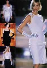 Atelier Versace S/S 1995 (barbiescanner) Tags: atelierversace versace vintageversace hautecouture 90s 90sfashions 1990s 1990sfashions 1995 fashion collezioni runway retrorunway shalomharlow emmasjoberg yasmeenghauri karenmulder