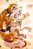 Nychos (Thomas Hawk) Tags: america bayarea california nychos sf sfbayarea sanfrancisco usa unitedstates unitedstatesofamerica westcoast graffiti mural skeleton streetart tiger fav10