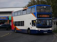 Stagecoach in Hull 18427 - YN06 LLW (Hullian111) Tags: stagecoach east midlands hull 18427 dennis trident alexander alx400 yn06llw yn06 llw not service nis