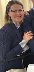 Carla (bof352000) Tags: woman tie necktie suit shirt fashion businesswoman elegance class strict femme cravate costume chemise mode affaire
