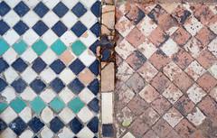 Mosaic Floor (only lines) Tags: tiles floor malaga alcazaba