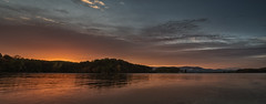 Smith Mountain Lake Panorama (Vincent1825) Tags: 31mm landscape pixelshift sunrise pentax