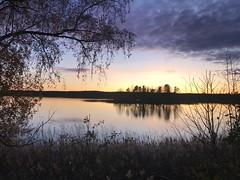 Fall in Sweden (g.e.a.d) Tags: sunset fall throughherlens water