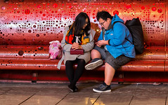 Urban lifestyle (zilverbat.) Tags: people peopleinthecity streetcandid streetphotography streetportrait zilverbat straatfotograaf streetlife urban urbanvibes grotemarktstraat peopleinthestreet bench bank denhaag thehague candidphotography candid centrum image city town nightlife night nightphotography canon asian