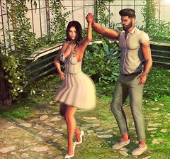 [ 📷 - 143 ] (insociable.sl) Tags: magnificient beard navajo models classy white plant nature dancing dance cute woman female girl boy man male bae love girlfriend couple edit sl secondlife
