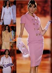 Atelier Versace S/S 1995 (barbiescanner) Tags: atelierversace versace vintageversace hautecouture 90s 90sfashions 1990s 1990sfashions 1995 fashion collezioni runway retrorunway carlabruni stephanieseymour shalomharlow