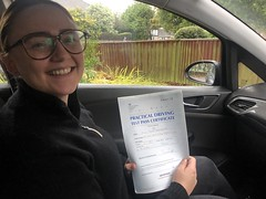 Massive congratulations  to Juste passing her driving test with only 3 minor faults!   www.leosdrivingschool.com  WARNING: Getting your license is a good achievement however being a SAFE driver for life is the biggest achievement!