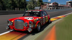 Mercedes Benz 300 SEL 6.8 AMG 1971 (BIBI Tornado) Tags: mercedesbenz amg racing francorchamps speed