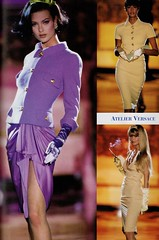 Atelier Versace S/S 1995 (barbiescanner) Tags: atelierversace versace vintageversace hautecouture 90s 90sfashions 1990s 1990sfashions 1995 fashion collezioni runway retrorunway shalomharlow yasmeenghauri claudiaschiffer