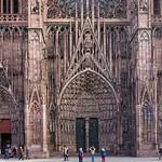 06b Порталы Страсбургского собора 1277-1316 гг