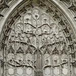05а Древо Иессеево. Тимпан северного трансепта собора в Бове XV-XVI вв.