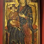 15 Пизанский мастер Богородица с младенцем на троне XIIIв ГМИИ им Пушкина