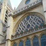 07 Церковь Сен-Севрен Париж, Фрагмент фасада, XV в