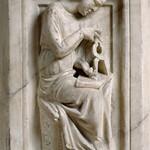 30 Джованни Пизано  собор в Пизе Аллегория Геометрии