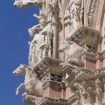 31в  Собор Успения Богородицы в Сиене Фрагмент фасада