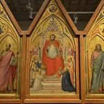 39с Джотто Алтарь Стефанески Оборотная сторона 1330 Ватиканская пинакотека