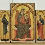 60 Паоло Венециано Богородица с Младенцем и святые. Венеция, 1354