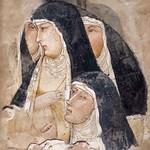 58 Амброджо Лоринцетти Четыре францисканки-клариссы 1336-1340 Лондон Национальная галерея