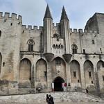 66 Папский дворец в Авиньоне, XIV в