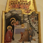 62 Бартоло ди Фреди Поклонение пастухов 1383 Ватикан, Пинакотека