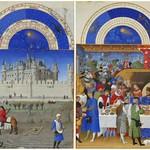 78e Великолепный часослов герцога Беррийского Календарь 1440-50
