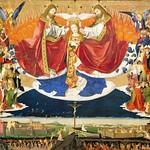 79 Ангерран Шаронтон Коронование Марии Франция, Авиньон 1454