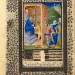78b Часослов герцога Беррийского. Избиение младенцев в Вифлееме 1411-1416