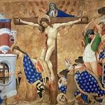 77 Анри Бельшоз  Распятие и мученичество св.Дионисия. Дижон 1415-16 Лувр